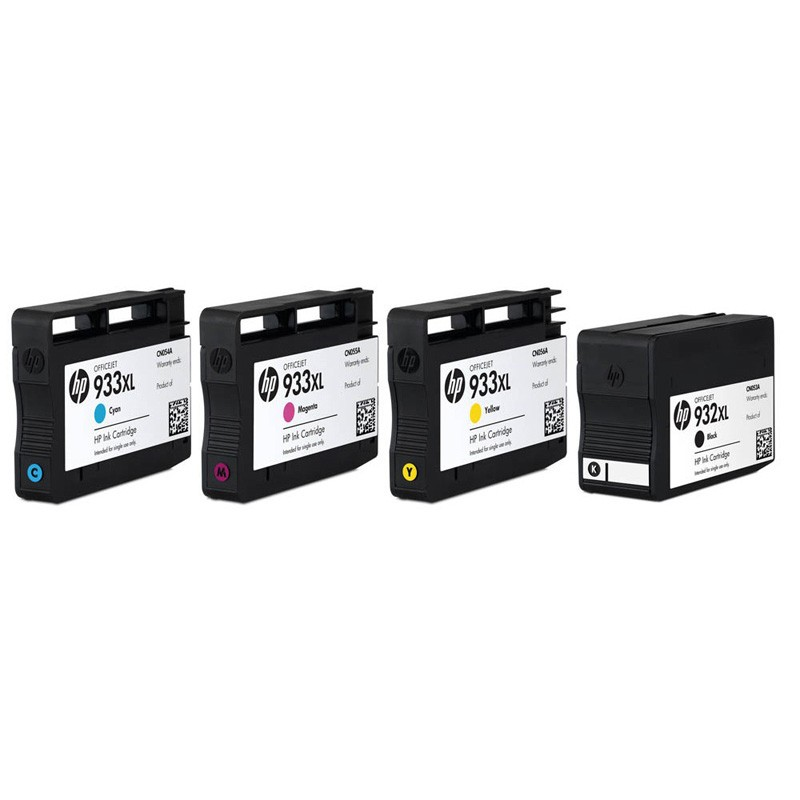 hp 932xl black 933xl colour ink cartridges c2p42ae. Black Bedroom Furniture Sets. Home Design Ideas