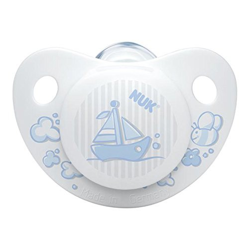 NUK Silicone Soothers - Blue