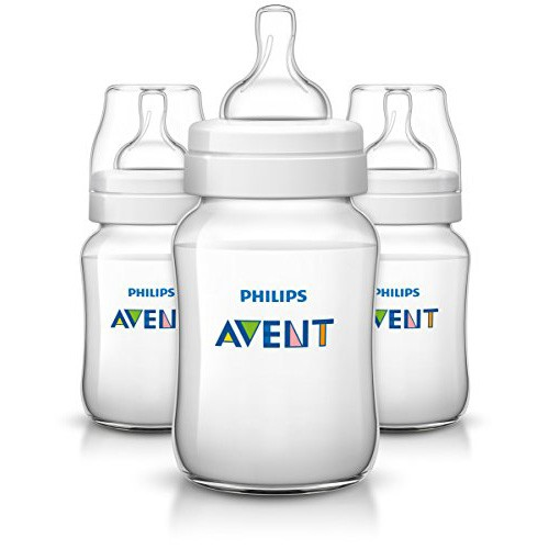 Philips Classic + Feeding Anti-Colic Bottle 260ml/9oz 3 Pack