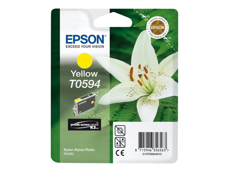 Epson Lilly T0594 Yellow Ink Cartridge ( C13T05944010 , EPT059440 )