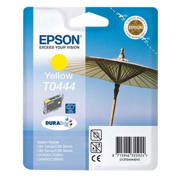 Epson C13T04444010 - Yellow High Cap Ink Cartridge C64C84 (EPT044440)