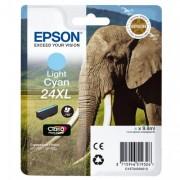 EPSON T2435 24XL LIGHT CYAN INK CLARIA PHOTO HD ELEPHANT