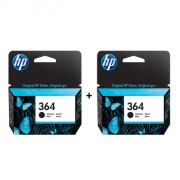 HP 364 Photo Original Ink Cartridge Twin Pack - CB317EE