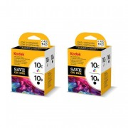 Kodak 10 Black and 10 Colour Ink Cartridge Multipack x 2 ( 3947074 )
