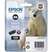 Epson 26XL Photo Black Ink Cartridges - C13T26314010