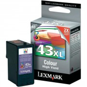 Lexmark 43 Color Print cartridge - 18YX143E