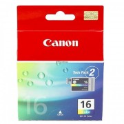 Canon BCI-16 Colour (Twin Pack) Ink Tank (9818A008 , CABCI16)