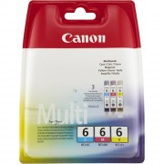 Canon BCI-6 CMY Ink Tank color Multipack (4706A022,CABCI6CMY,4706A029)