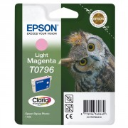 Epson Owl T0796 Light Magenta Cartridge (C13T07964010 ,EPT079640A0)