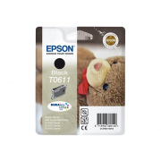Epson TeddyBear T0611 Black ink Cartridge ( C13T06114010 , EPT061140 )