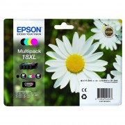 Epson 18XL Multipack 4 Colours Ink Cartridges - C13T18164010