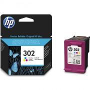 HP 302 Tri-color Original Ink Cartridge - F6U65AE