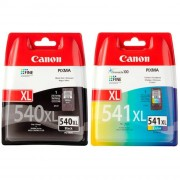 Canon PG-540XL Black & CL-541XL Colour Combo Pack (5222B005 ,5226B005)