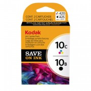 Kodak 10 Black & 10 Colour Ink Cartridges