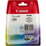 Canon PG-40 / CL-41 Multi Pack Ink Cartridges - 0615B043