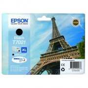 Epson Eiffel Tower T7021XL Black Ink Cartridge ( C13T70214010 )