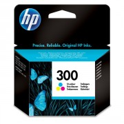 HP 300 Tri-Colour Ink Cartridges Original - CC643EE