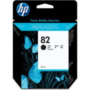 HP 82 Black Ink Cartridges, DesignJet  - CH565A