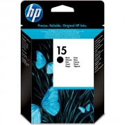 HP 15 Black Inkjet Print Cartridge  ( 55394X , C6615NE )