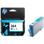 HP 364 Cyan Ink Cartridges (CB318EE)