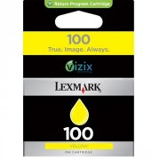 Lexmark 100 Yellow Ink Cartridge (247210 , LE014N0902E)
